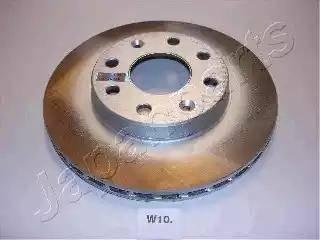 Japanparts DI-W10 - Bremžu diski autodraugiem.lv
