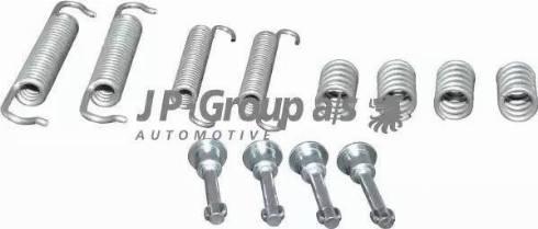 JP Group 1463950110 - Piederumu komplekts, Stāvbremzes mehānisma bremžu loks autodraugiem.lv