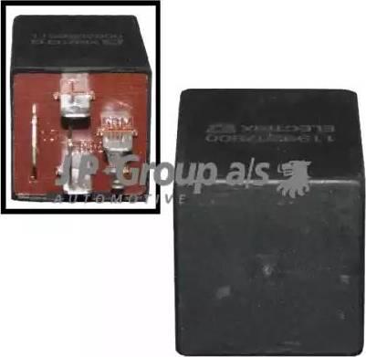 JP Group 1199207800 - Relejs, Stiklu mazgāšanas sistēmas intervāls autodraugiem.lv