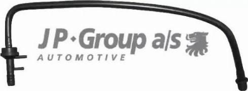JP Group 1161850600 - Vakuumcauruļvads, Bremžu pastiprinātājs autodraugiem.lv