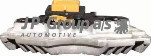 JP Group 1128001700 - Vadības bloks, Apsilde/Ventilācija autodraugiem.lv