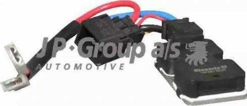 JP Group 1399150100 - Vadības bloks, Elektroventilators (Motora dzesēšana) autodraugiem.lv