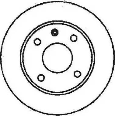 Jurid 561462J - Bremžu diski autodraugiem.lv
