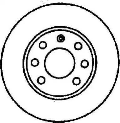 Jurid 561404J - Bremžu diski autodraugiem.lv