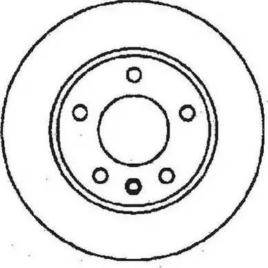 Jurid 561407J - Bremžu diski autodraugiem.lv