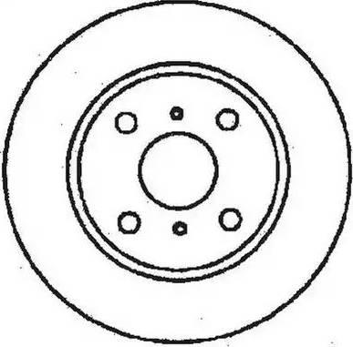 Jurid 561429J - Bremžu diski autodraugiem.lv
