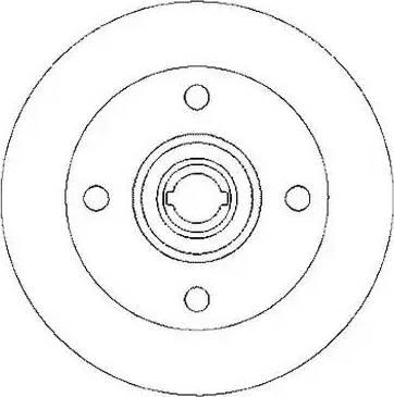 Jurid 561093J - Bremžu diski autodraugiem.lv