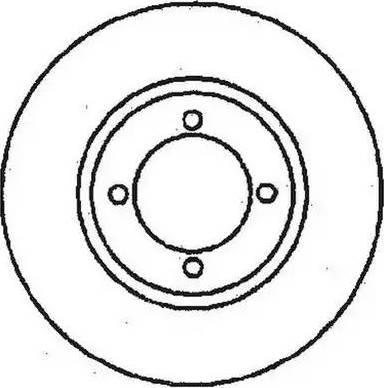 Jurid 561097J - Bremžu diski autodraugiem.lv