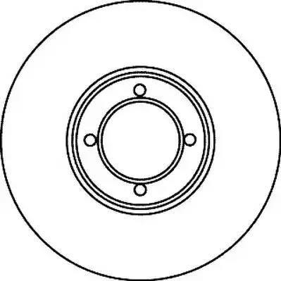 Jurid 561069J - Bremžu diski autodraugiem.lv