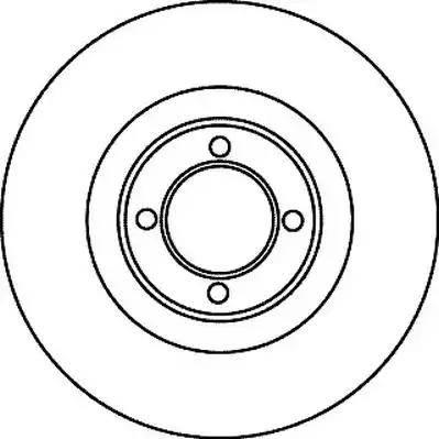 Jurid 561017J - Bremžu diski autodraugiem.lv