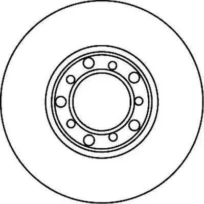 Jurid 561022J - Bremžu diski autodraugiem.lv