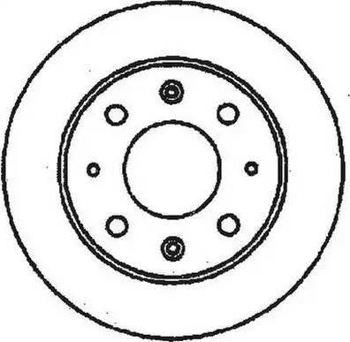 Jurid 561144J - Bremžu diski autodraugiem.lv