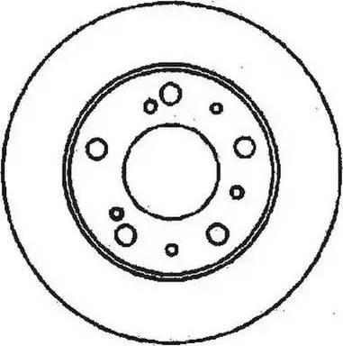 Jurid 561159JC - Bremžu diski autodraugiem.lv