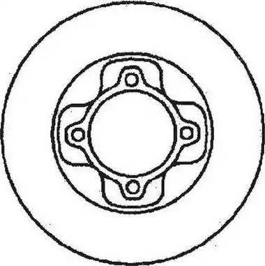 Jurid 561156J - Bremžu diski autodraugiem.lv