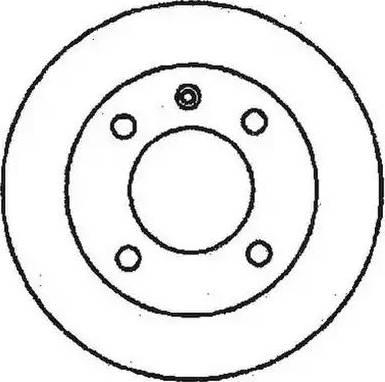 Jurid 561114J - Bremžu diski autodraugiem.lv