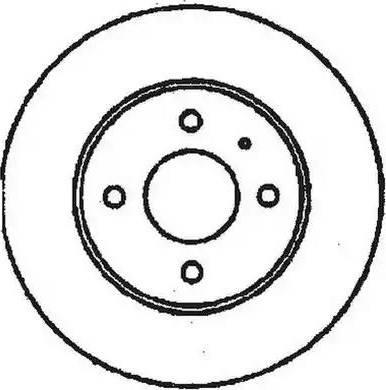 Jurid 561180J - Bremžu diski autodraugiem.lv