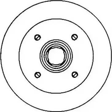 Jurid 561138J - Bremžu diski autodraugiem.lv