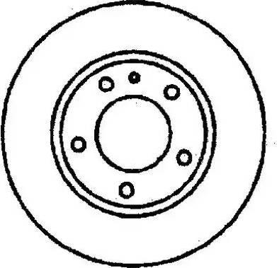 Jurid 561122J - Bremžu diski autodraugiem.lv