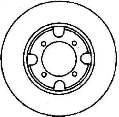Jurid 561343J - Bremžu diski autodraugiem.lv