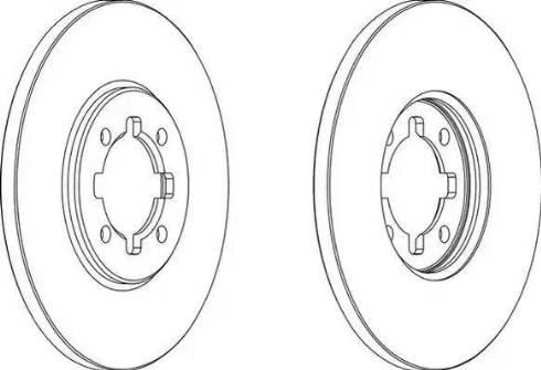 Jurid 561299J - Bremžu diski autodraugiem.lv