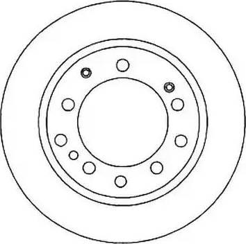Jurid 561295J - Bremžu diski autodraugiem.lv