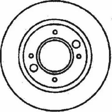 Jurid 561241J - Bremžu diski autodraugiem.lv