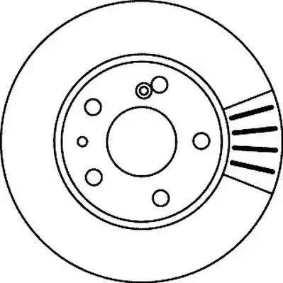 Jurid 561242J - Bremžu diski autodraugiem.lv