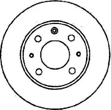Jurid 561204J - Bremžu diski autodraugiem.lv