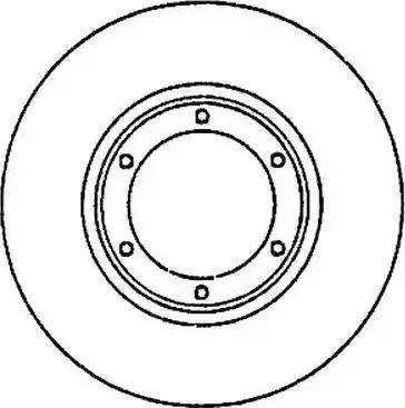Jurid 561217J - Bremžu diski autodraugiem.lv