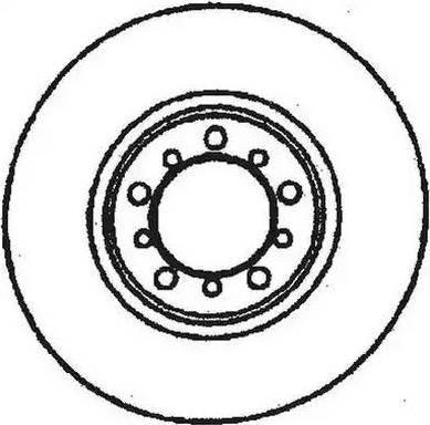 Jurid 561284J - Bremžu diski autodraugiem.lv