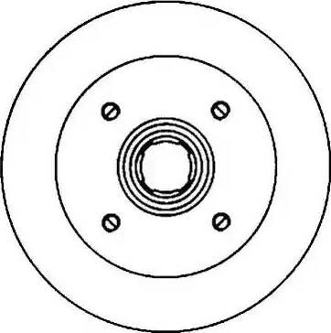 Jurid 561280J - Bremžu diski autodraugiem.lv