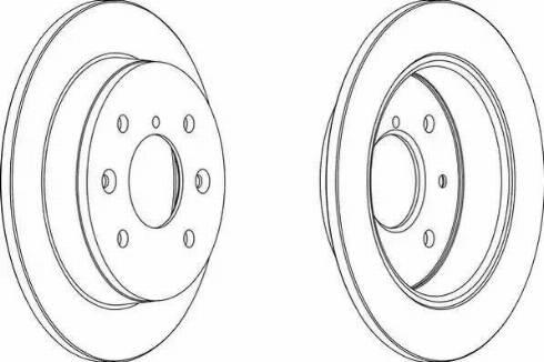 A.B.S. 15515 - Bremžu diski autodraugiem.lv