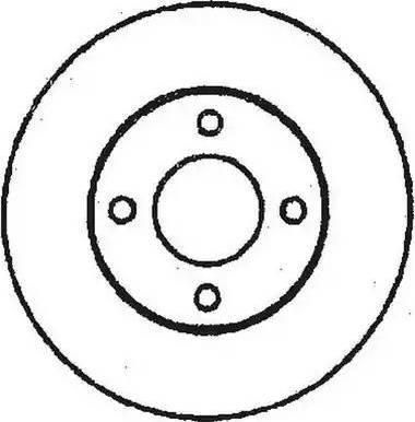 Jurid 561239J - Bremžu diski autodraugiem.lv