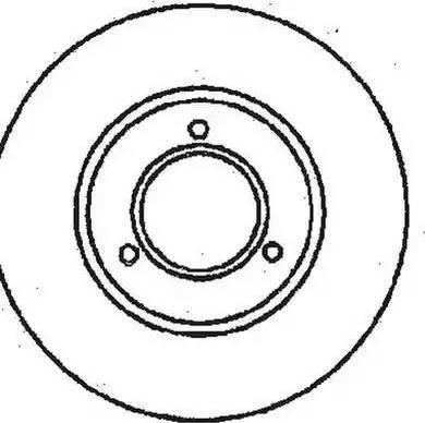 Jurid 561221J - Bremžu diski autodraugiem.lv