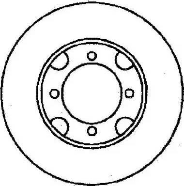 Jurid 561279J - Bremžu diski autodraugiem.lv