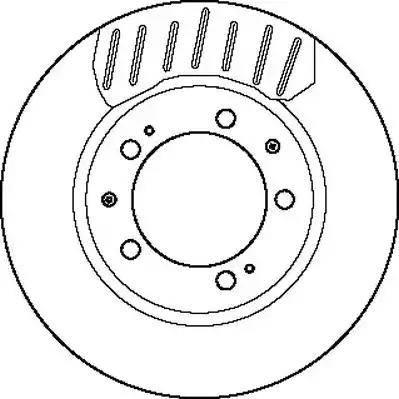 Jurid 561755J - Bremžu diski autodraugiem.lv