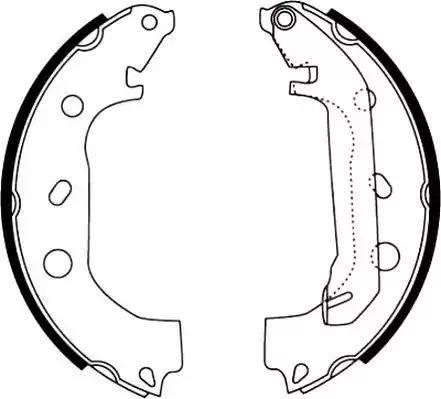 Jurid 362416J - Bremžu komplekts, trumuļa bremzes autodraugiem.lv