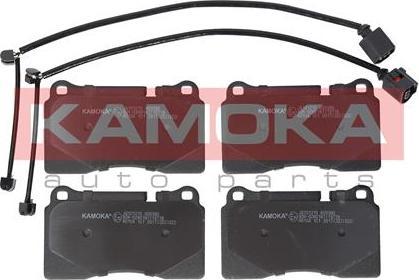 Kamoka JQ101215 - Bremžu uzliku kompl., Disku bremzes autodraugiem.lv