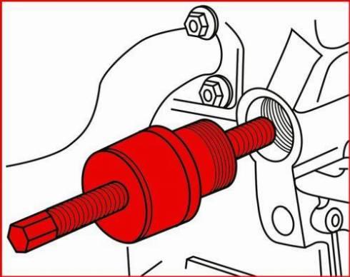 KS Tools 400.9090 - Uzstādīšanas instrumentu komplekts, Gāzu sadales mehānisms autodraugiem.lv