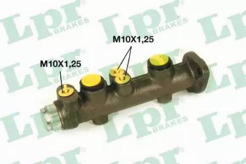 LPR 6740 - Galvenais bremžu cilindrs autodraugiem.lv
