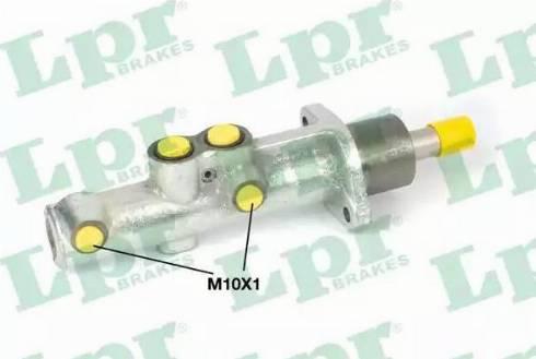 LPR 1039 - Galvenais bremžu cilindrs autodraugiem.lv