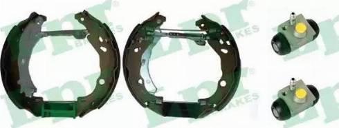 LPR OEK551 - Bremžu komplekts, trumuļa bremzes autodraugiem.lv