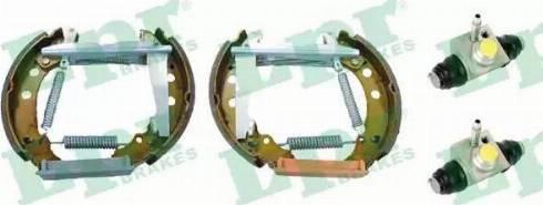 LPR OEK562 - Bremžu komplekts, trumuļa bremzes autodraugiem.lv