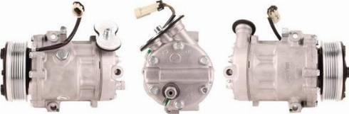 LUCAS ACP205 - Kompresors, Gaisa kond. sistēma autodraugiem.lv