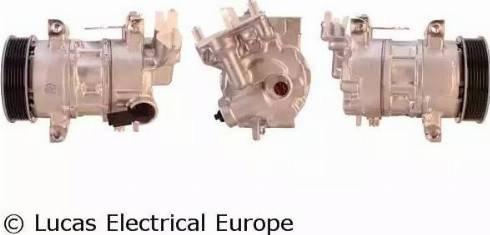 Lucas Electrical ACP01043 - Kompresors, Gaisa kond. sistēma autodraugiem.lv
