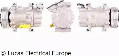 Lucas Electrical ACP144 - Kompresors, Gaisa kond. sistēma autodraugiem.lv