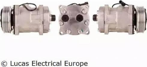 Lucas Electrical ACP156 - Kompresors, Gaisa kond. sistēma autodraugiem.lv