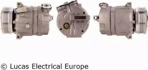 Lucas Electrical ACP101 - Kompresors, Gaisa kond. sistēma autodraugiem.lv