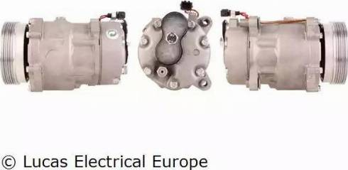Lucas Electrical ACP102 - Kompresors, Gaisa kond. sistēma autodraugiem.lv