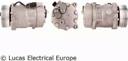 Lucas Electrical ACP107 - Kompresors, Gaisa kond. sistēma autodraugiem.lv